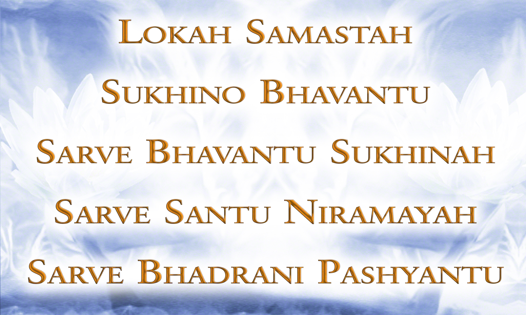 Sarve Bhavantu Sukhinah - Be Happy (Shanti Mantra) by Canda & Guru Atman